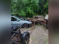 Mai multe zone din România, devastate de ploile abundente. Oamenii au fost avertizați prin RO-Alert