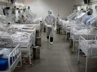 România se pregătește pentru efectele grave ale pandemiei. Crește numărul de paturi la ATI