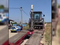 Un bărbat din Dolj a fost strivit de o rampă de pe platforma unei sonde, care s-a prăbușit