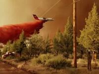 Coasta de vest a SUA rămâne pradă arşiţei şi incendiilor de vegetaţie