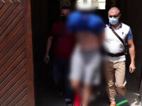 Tânărul din Timișoara, reţinut după ce i-a dat foc unei vecine, și-a premeditat fapta. Femeia a decedat la spital