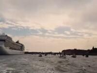 Este oficial. Navele de croazieră nu vor mai avea acces în centrul istoric al Veneției
