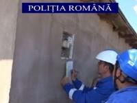 Razie de amploare a polițiștilor din Galați, pentru a-i depista pe cei care fură energie electrică