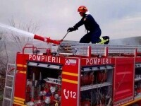 Incendiu la un centru de încărcare a buteliilor, din Prahova: Două persoane au arsuri grave