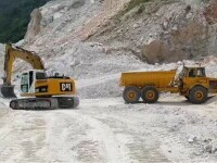 Angajații unei cariere de calcar din Bihor fac greva foamei, pentru că mina rămâne fără licență de explotare