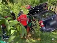 Impact violent între un autoturism și un camion, în județul Vaslui. Unul dintre șoferi e în stare critică