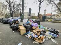 Stare de alertă în Sectorul 1, din cauza gunoaielor. Peste 2600 de tone de deşeuri sunt răspândite în zonă