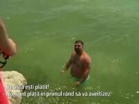 """""""N-am plătit sejurul ca să mă scoţi tu afară din apă!"""". Salvamarii duc lupte grele cu turiștii care ignoră steagul roșu"""