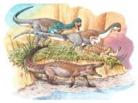 A fost descoperită o fosilă veche de 150 de milioane de ani. Aparține unui \'\'bunic\'\' al crocodilului. FOTO