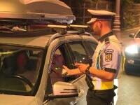 Razie de amploare în București. Peste 100 de șoferi au fost amendați