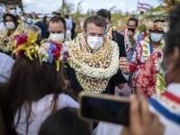 Imagini incredibile cu Emmanuel Macron. Președintele Franței a fost \