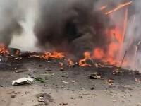 Tragedie în SUA. Trei persoane au murit după ce un avion s-a prăbușit în apropierea unui teren de golf