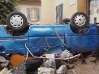 """Inundații devastatoare și în Italia: """"Am văzut un râu pe străda principală, plin cu tot felul de resturi, mașini\"""