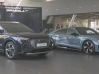 (P) Audi lansează în România e-tron GT și Q4 e-tron – primul SUV electric compact din gamă