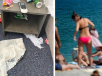 Un manager de hotel din Mamaia arată ce au lăsat turiștii în cameră, în urma lor