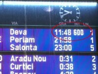 Întârzieri uriașe pe calea ferată în ultimele zile. Trenul Mangalia-Arad a avut o întârziere de 600 de minute