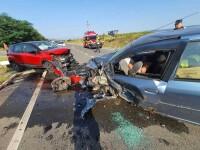Accident rutier produs de un şofer beat, în Hunedoara. Trei oameni au fost răniţi