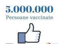 România a atins pragul de 5 milioane de persoane vaccinate, la două luni după termenul stabilit de Florin Cîțu
