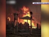 Dezastru provocat de incendii în Turcia și Italia. Oamenii au fugit din calea flăcărilor, care au cuprins și o plajă
