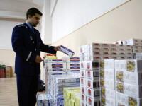 ANAF: Peste 130 de milioane de tigarete confiscate in noua luni