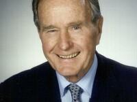George Bush Senior a sarit cu parasuta, la 85 de ani!