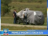Avem primele imagini cu Dacia SUV!