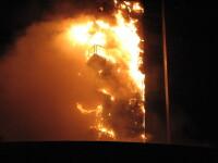 Incendiul de la blocul Millenium - pagube de aproape 20.000.000 de euro