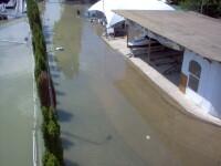 Ceatalchioi, locul unde Dunarea a lovit napraznic. 160 de oameni, fara case