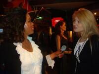 Alexandra Ignat s-a fotografiat cu Oprah si Madonna, la Amsterdam