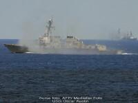USS Oscar Austin, temutul distrugator american, manevre in Marea Neagra