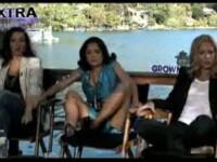 Salma Hayek, isterica, dupa ce un sarpe i-a trecut peste picioare! VIDEO