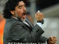 Diego Maradona filmat in timp ce-si agreseaza iubita. VIDEO