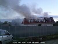 Incendiu violent la un centru pentru tineri cu dizabilitati din Iasi