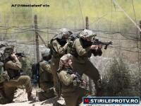 Stare de razboi la granita Israelului cu Siria. Soldatii sunt inarmati si gata sa traga