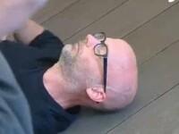 VIDEO. Momentul in care Moby se prabuseste pe scena, electrocutat la un concert din Amsterdam