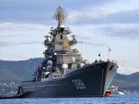 Rusia trimite un crucisator lansator de rachete in Mediterana. Misiunea: