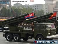 Se fac pregatiri de razboi. Coreea de Nord si-a testat rachetele cu raza scurta de actiune