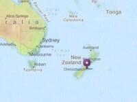Doua cutremure, de 5,8 si 6 pe Richter, au zguduit orasul Christchurch, Noua Zeelanda. VIDEO