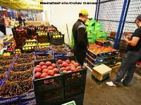 Legume si fructe straine, vandute la tarabe cu eticheta de