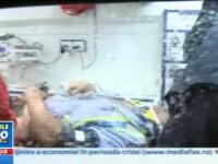 Doi politisti au ajuns in spital dupa ce un sofer baut le-a spulberat masina