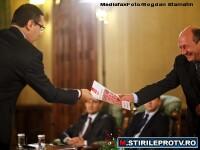 USL vrea alegeri anticipate. Basescu catre Antonescu: M-am obisnuit cu suficienta dumneavoastra