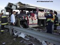Povestea femeii care a trecut la un milimetru pe langa moarte, in autocarul groazei de pe DN1. VIDEO