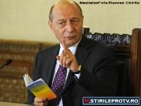 Presedintele Traian Basescu a trimis la Parlament proiectul de revizuire a Constitutiei