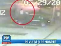 VIDEO: Un tata si fiul sau, batuti si injunghiati in Sintesti, orasul demn de Vestul Salbatic