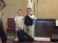 VIDEO. Melodia cantata de acesti copii intr-o biserica a starnit reactii dure. Preotul, amenintat