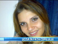 O romanca a fost ucisa in Italia, chiar in fata copilului, de iubitul ei gelos