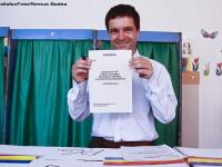 Nicusor Dan, omul care n-a fost sprijinit de niciun partid la alegeri. Locul 3 la Primaria Capitalei