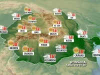 Afla cum e vremea in Romania din ora in ora