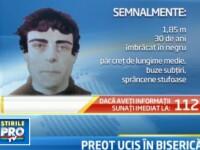 Seful Politiei Vrancea: Ucigasul preotului este o persoana cu deviatii de comportament