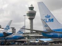 Incident bizar la bordul unui avion KLM. Copilotul ar fi fost injunghiat de un pasager
